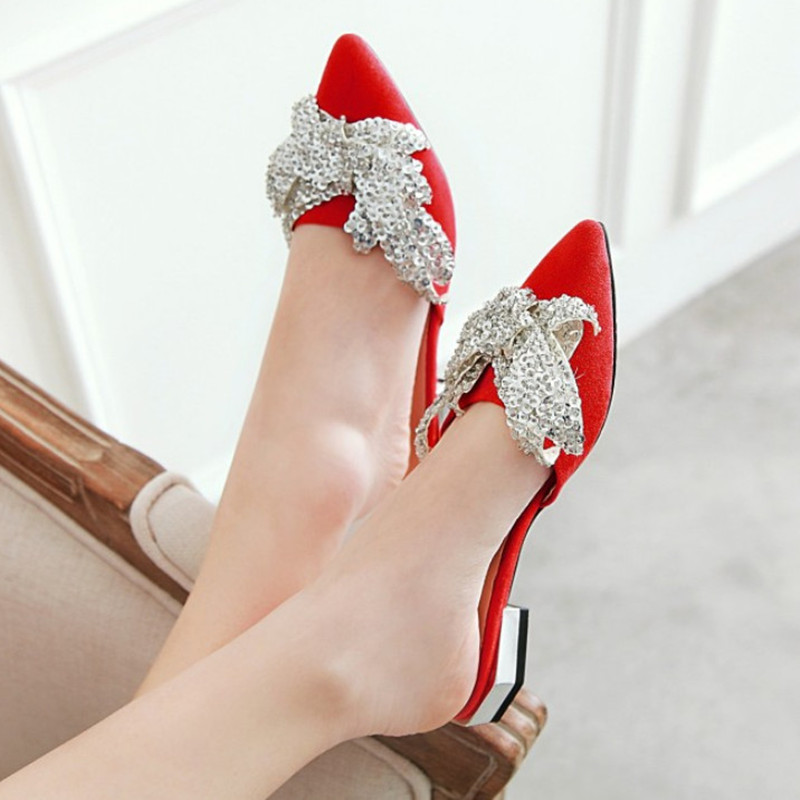 New Brand Glitter Women Loafers Summer Shoes Flat Fashion Pointed Toe Shoes Woman Comfortable Summer Shoes Slippers Women