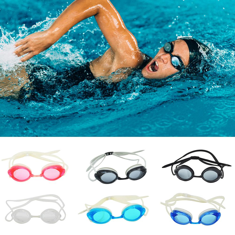 Race Anti-fog Swimming Goggles Pool Underwater Diving Professional Water Swim Eye Wear Glasses