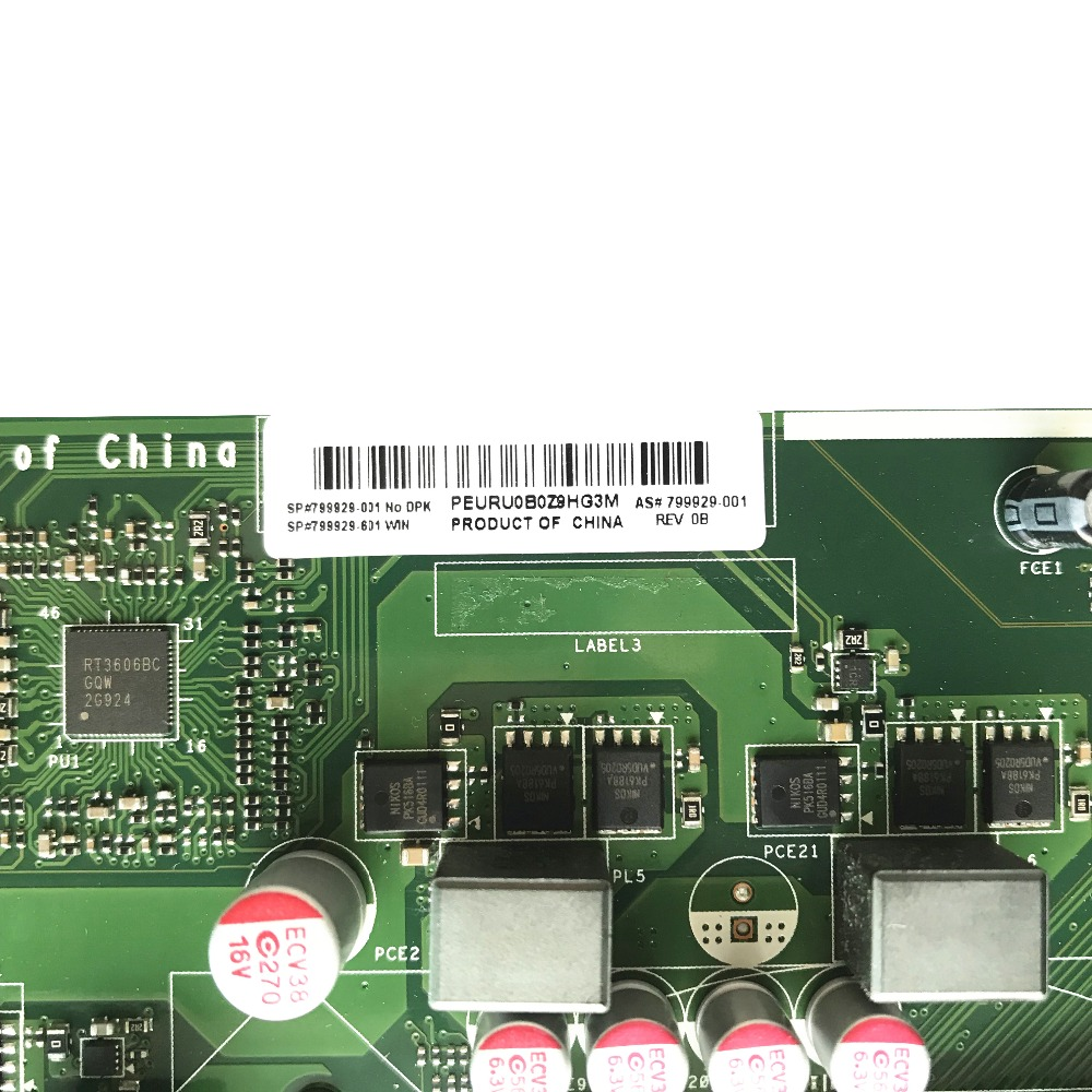US $98 75 21% OFF Reboto 799929 001 799929 601 High Quality For HP IPM17 DD  REV:1 04 Desktop Motherboard LGA1151 DDR3 USB3 0-in Motherboards from