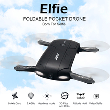 JJR/C H37 Elfie Gyro WIFI FPV Quadcopter Selfie Drone Foldable Mini Drones with Camera HD RC Dron Helicopter VS JJR/C H36 H31