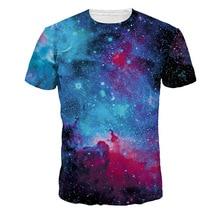 ФОТО  Sale Men 3D T-shirt Galaxy Casual Fitness Tops Romantic  Size Tees Mens Hip Hop 2018 ly Romantic Streetwear Tshirts