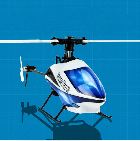 Wltoys V977 6CH 2.4 G lame simple rc hélicoptère 3D Brushless Flybarless WL V977 hélicoptère jouet avec six axes Gyro livraison gratuite