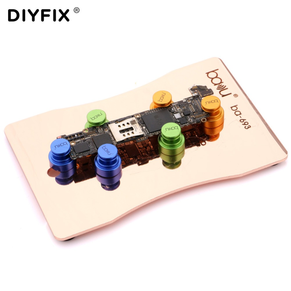 PCB Circuit Board Holder Jig Fixture Universal Movable Magnetic CellPhone Repair Work Station For IPhone XR XS Max IPad Android