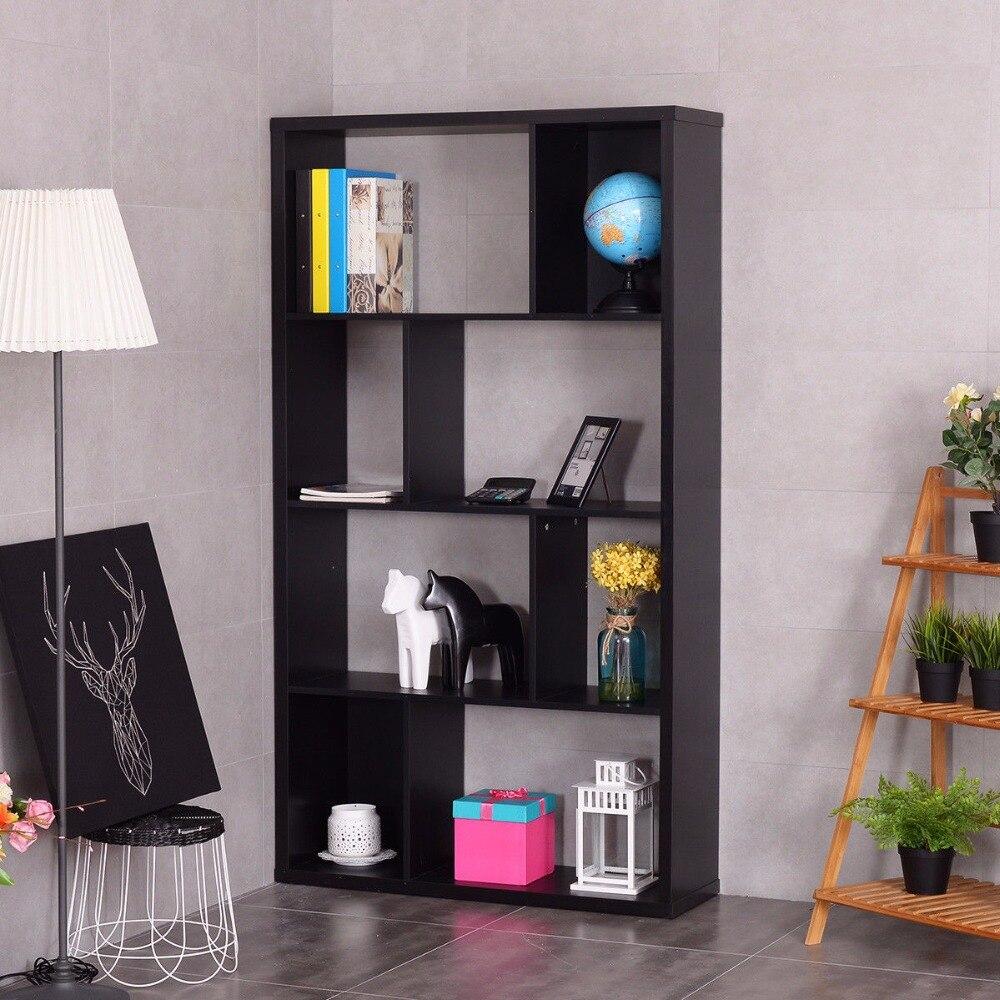 Здесь продается  Giantex Modern Bookshelf Studio Display Stand Home Office Multipurpose Study Bookcase Living Room Storage Display Rack HW54811  Мебель