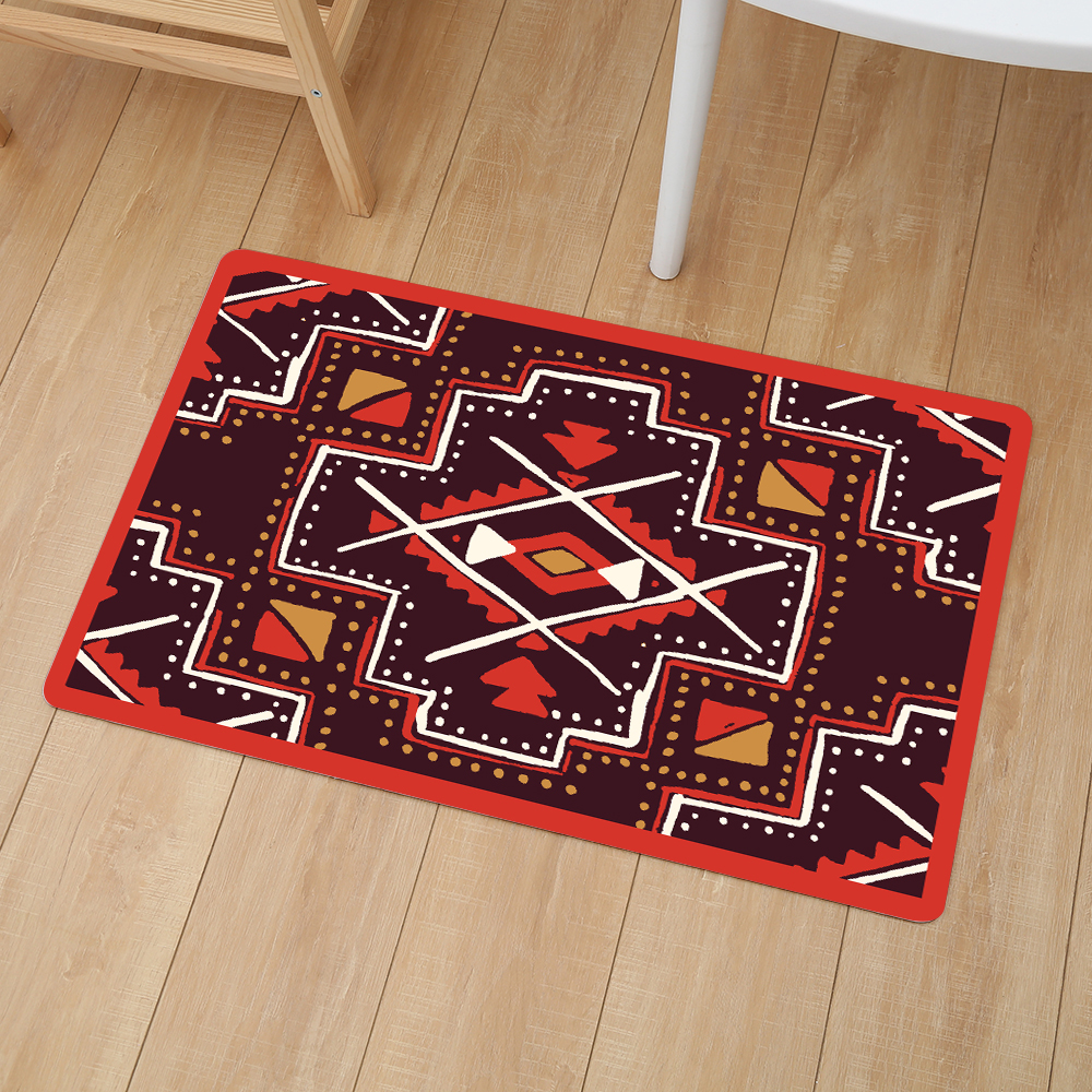 Image 3 - Creative Entrance Mats Non slip Door Mat Carpet Outdoor Welcome Pad Soft Rug Doormat Indoor Bathroom Kitchen Carpet Floor Mat-in Mat from Home & Garden