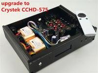 ES9038 ES9038PRO обновление до Crystek CCHD 575 HIFI аудио ЦАП вариант XMOS или Amanero USB Новый Verison