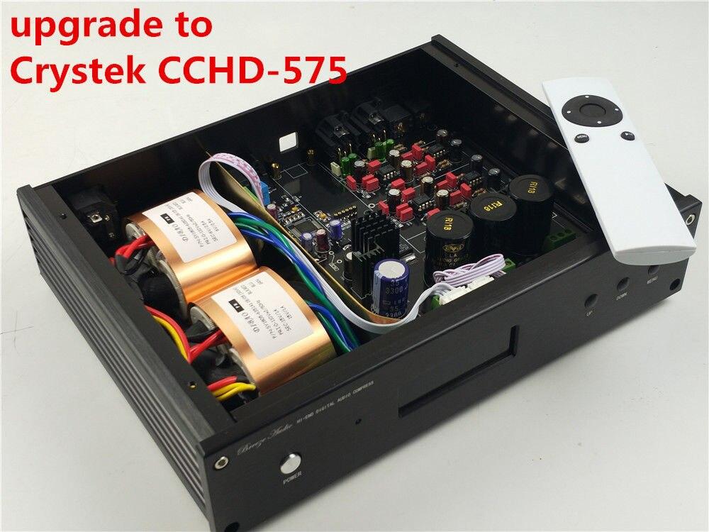 ES9038 ES9038PRO mise à niveau à Crystek CCHD-575 HIFI audio DAC OPTION XMOS Ou Amanero USB NOUVELLE Verison