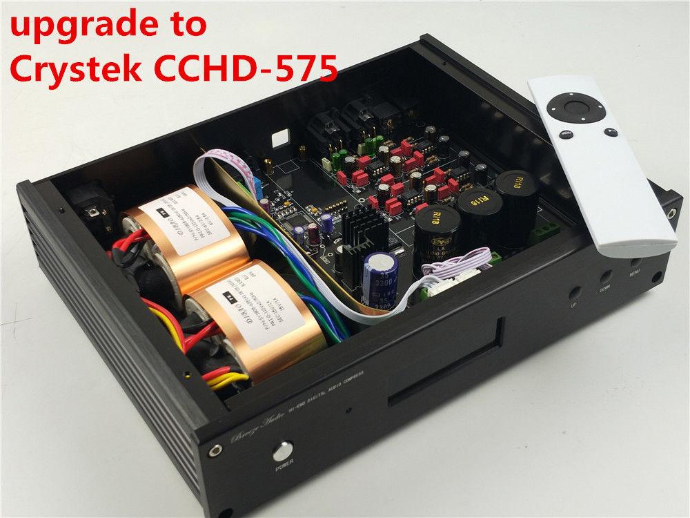 ES9038 ES9038PRO upgrade to Crystek CCHD-575 HIFI audio DAC OPTION XMOS Or Amanero USB NEW Verison