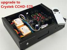 ES9038 ES9038PRO обновление до Crystek CCHD-575 HIFI аудио ЦАП вариант XMOS или Amanero USB Новый Verison