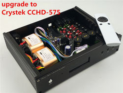 ES9038 ES9038PRO upgrade to Crystek CCHD-575 HIFI audio DAC OPTION XMOS Or Amanero USB NEW Verison