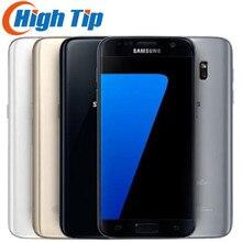 Получить скидку Samsung Galaxy S7 оригинальные LTE 4 г мобильный телефон 4 ядра 5.1 »12.0MP NFC WI-FI 4 г Оперативная память 32 г встроенная память смартфона