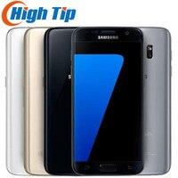 Samsung Galaxy S7 Original LTE 4G Mobile phone Quad Core 5.1'' 12.0MP NFC WIFI 4G RAM 32G ROM Smartphone
