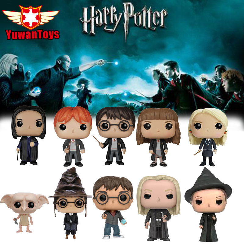 Hot Official Harry Potter Action Figure Harry Potter And The Deathly Hallows Action Figures Vinyl Figure Collectible Model Toys
