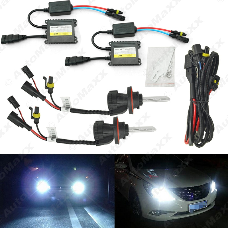 5Sets 35W AC Car Headlight H13 HID Xenon Bulb Hi/Lo Beam Bi-Xenon Bulb Light Digital Slim Ballast HID Kit #J-4534 ac380v panel mount 8p 1 999900 count range digital counter relay dh48j dpdt
