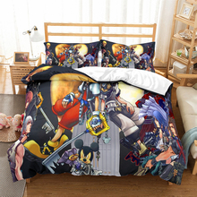 Kingdom Hearts bedding set Duvet Covers Pillowcases comforter sets Sora Riku Kairi Cartoon anime bedclothes bed linen