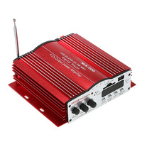 4 Channel Home Car Audio Amplifier Auto 4CH HiFi Audio Power Amplifier USB SD MMC MP3