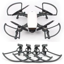Для DJI spark drone пропеллер охранников и складной шасси протектор комплект для DJI spark Drone аксессуары