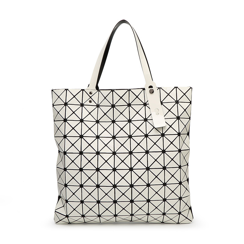 a621125a794e Folding bag leather bright diamond pattern geometric Japanese designer  brand in 2016 selling fashion shopping bag