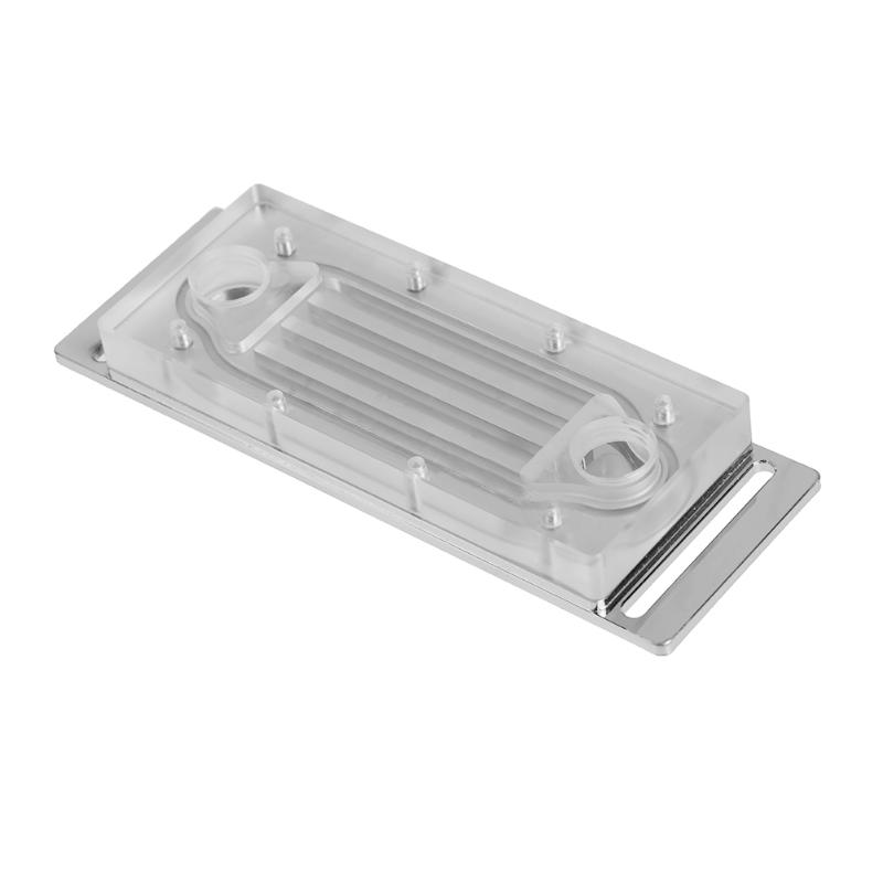 Super heat dissipation G1/4 RAM Water Cooling Block PC Memory Bank Water Cooling Block Liquid Block for Sea Rover Comb