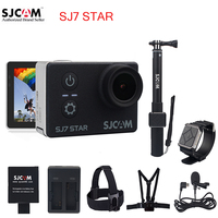 100 Original SJCAM SJ7 STAR Wifi 4k Touch Screen Remote Ambarella A12S75 30M Waterproof Sports Action