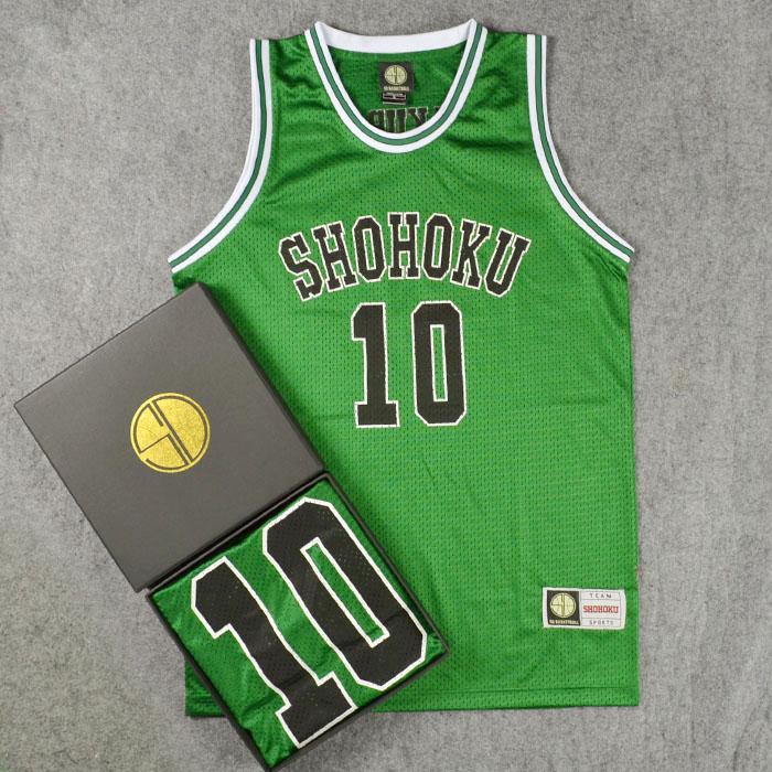 Anime Slam Dunk Shohoku Basketball Replica Top Jersey Cosplay Costume NO.1-15