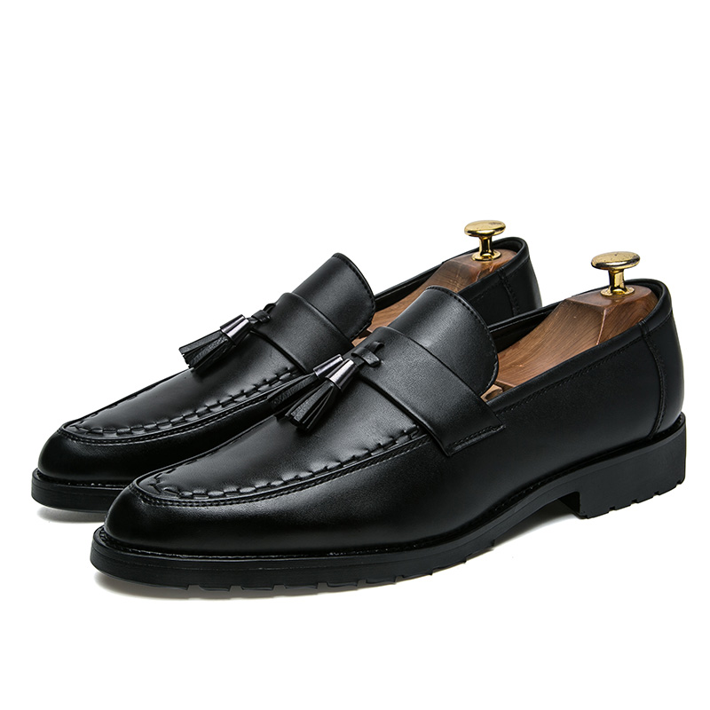 italian tassel business men shoes leather elegant formal dress flats designer office footwear luxury brand oxford shoes for men (23)