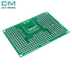 5x7CM 50x70mm dwustronnie prototypowa płytka drukowana płyta prototypowa Protoshield dla Arduino przekaźnik ESP8266 WIFI ESP-12F ESP-12E ESP32 ESP32S