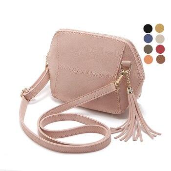 Fringe Crossbody Bag Women Suede Clutch Bag Girl Fashion Messenger Shoulder Handbags Ladies Beach Holiday Tassel Bags 10 colors