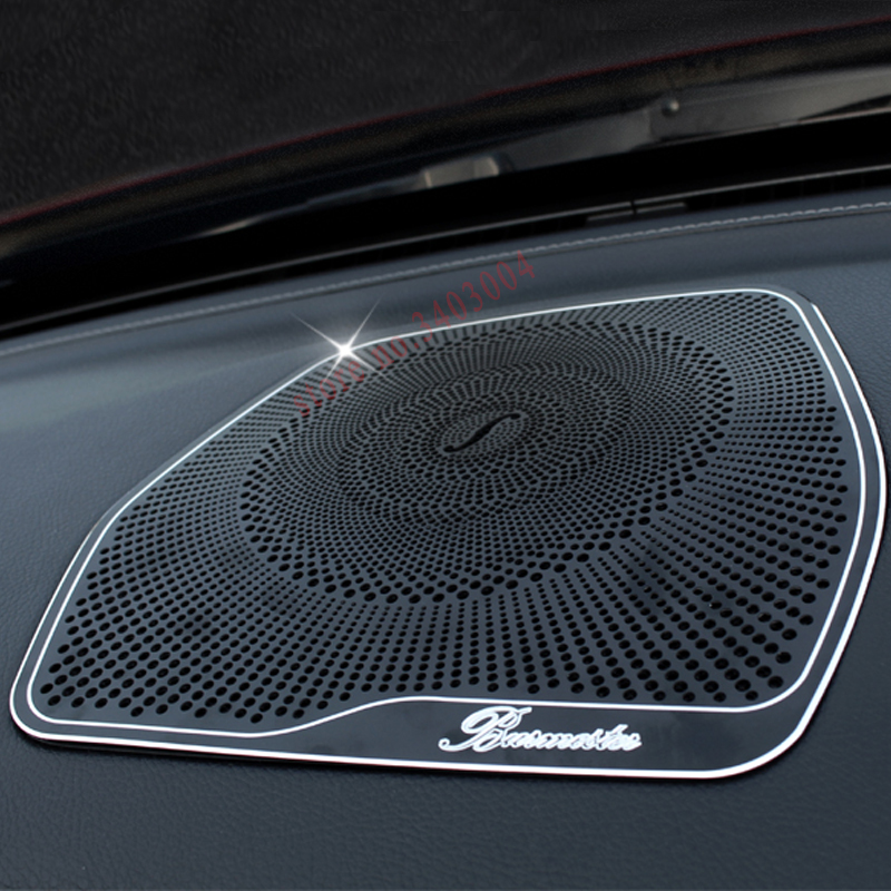 Car-Styling For Mercedes Benz W204 W205 c200 C class GLC High Quality Interior Radio Grill Trim center console Decorative Covers mercedes а 160 с пробегом