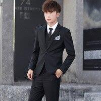 2019 New 3 piece suits men floral suit wedding slim suits for men suits with pants luxury men clothing business Smart Casual