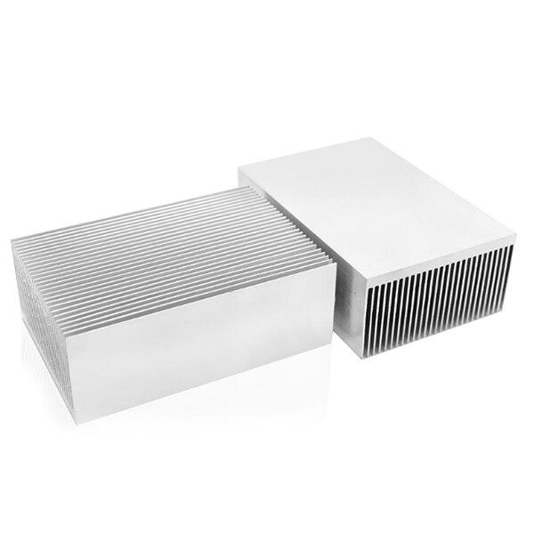 Große Aluminium Kühlkörper Kühlkörper Kühler Cooling Fin für IC LED Leistungsverstärker