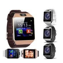 Bluetooth Relógio Inteligente Smartwatch DZ09 Relógio Android Telefonema 2G GSM SIM Câmera Cartão TF para iPhone Samsung HUAWEI PK GT08 A1