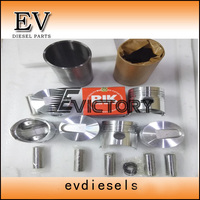 6DR5 Compelete rebuild kit for Mitsubishi engine 6DR5 piston piston ring cylinder liner engine bearing valve kit