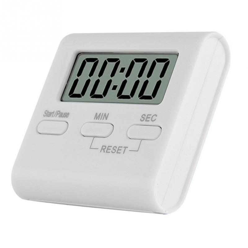 0-99 Minutes ABS LCD Digital Practical Kitchen Timer Cooking Tools Magnetic Digital Timer Alarm Clock