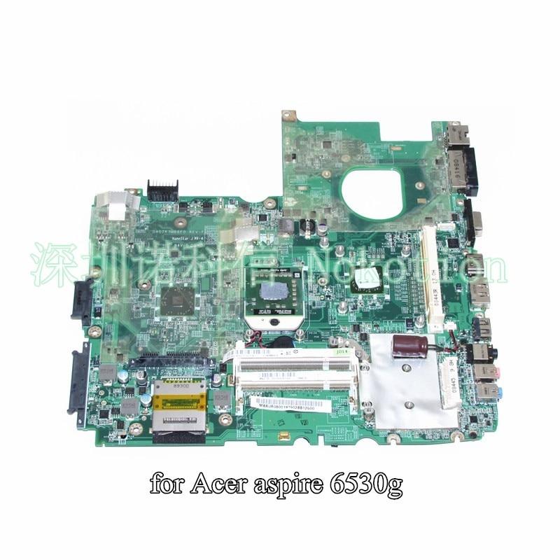 NOKOTION DA0ZK3MB6F0 MBAUR06001 MB.AUR06.001 For acer aspire 6530G laptop motherborad DDR2 With graphics slot nokotion mbpce01001 laptop motherboard for acer aspire 7535 ddr2 socket s1 with graphics card slot 48 4ce01 021 mainboard works