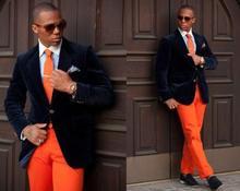 Classic Style Groom Tuxedos Groomsmen Men's Wedding Prom Suits Custom Made (Jacket+Pants+Girdle+Tie) K:367