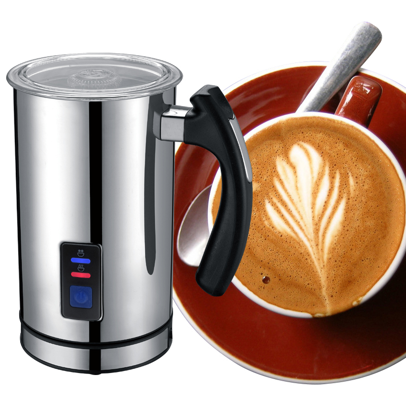 Best Automatic Stainless Steel Milk Frother Caffe Maker Machine Electric milk Foaming Heater for ...