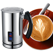 Best Automatic Stainless Steel Milk Frother Caffe Maker Machine Electric milk Foaming  Heater for cafe 220-240V