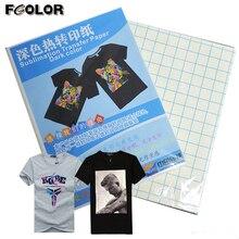 A4 темная сублимационная бумага для хлопковой футболки