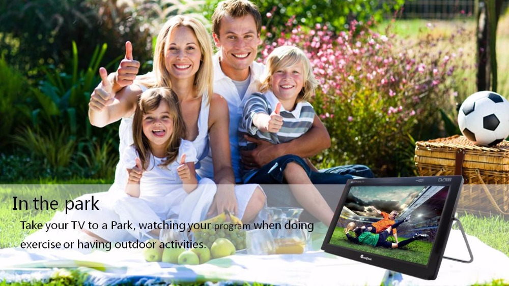 Free Shipping 9inch Portable DVB T2 TV/ High Quality LED TV Nice New Year Gifts for Parents And Kids 7 inch portable led tv television dvb t mpeg4 pvr black
