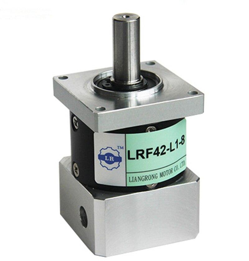LRF42-5 42mm economic planetary gear reducer ratio 5:1 for Delta panasonic 50w 100w 40mm AC servo motor NEMA17 stepping motor dvopm20036 for panasonic servo motor