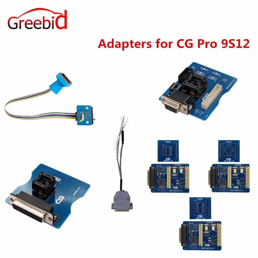 Adapter für CG Pro 9S12 711 DB25 HC705/908 AM29FXXX AM29Blxxx 3 in 1 EEPROM V850 M35080/35160 12Pin Adapter 35160WT adapter