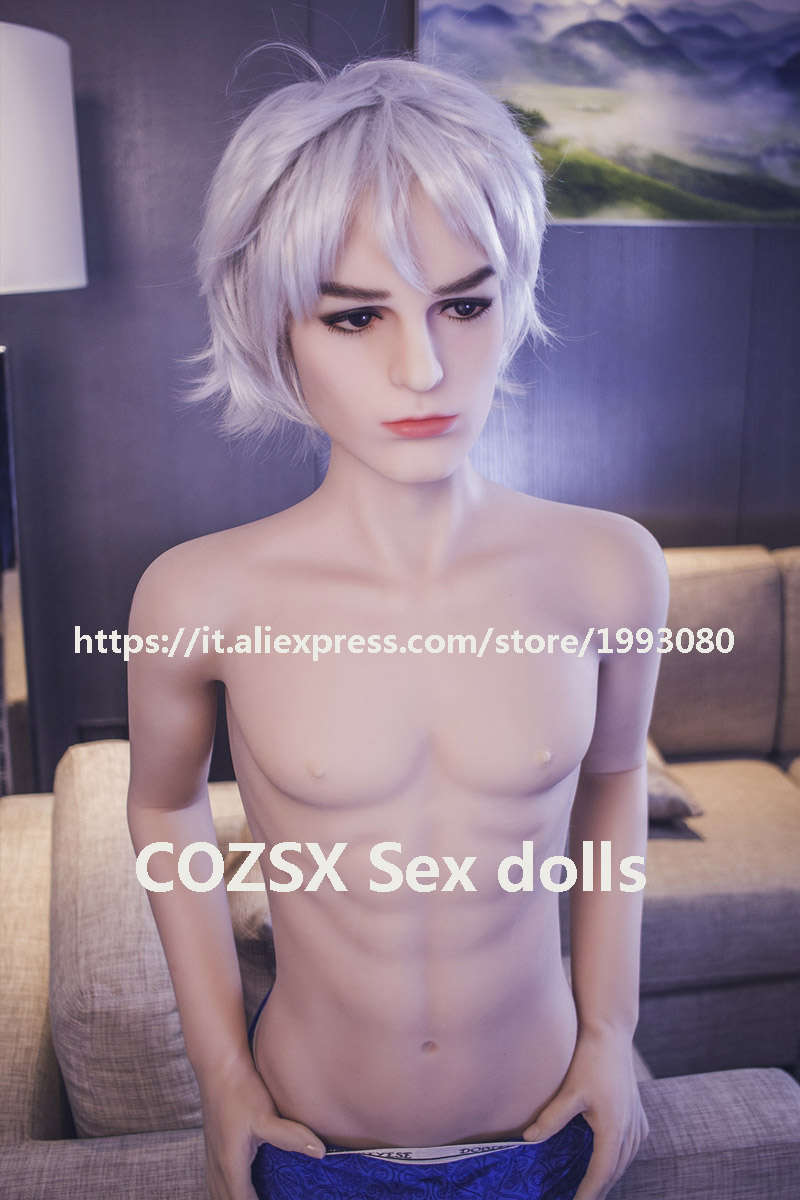 COZSX japanese Real Silicone full <font><b>Sex</b></font> <font><b>Doll</b></font> 160cm For <font><b>Asian</b></font> Men adult Gay Oral Anal love <font><b>doll</b></font> Realistic big Penis 17cm image
