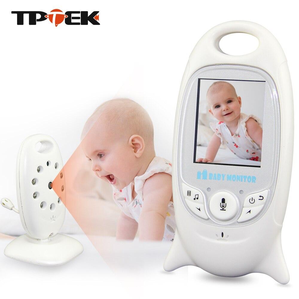 Wireless Baby Monitor 2 pollice BeBe Baba Elettronico Baby Sitter Radio Video Nanny Camera Night Vision Monitoraggio della Temperatura VB601