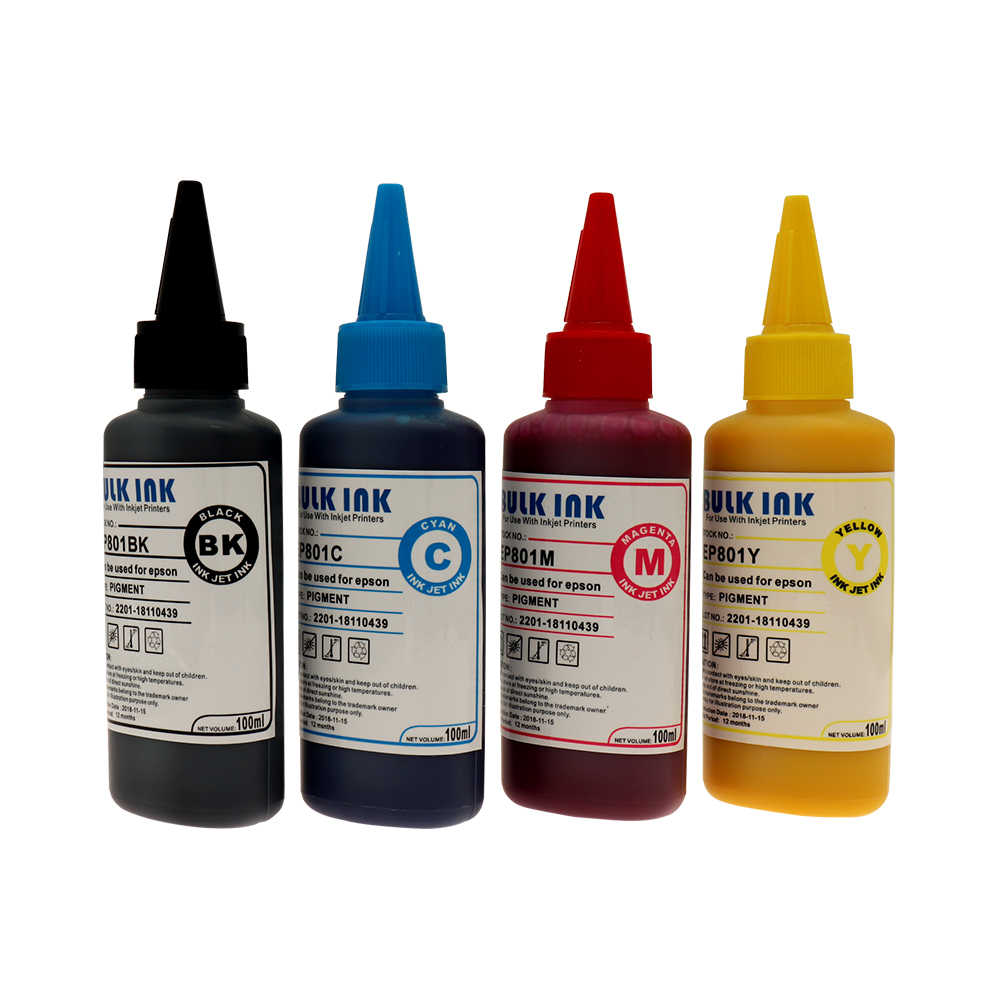 4 Bottles x 100ML T0631 T0634 Sublimation Ink For Epson
