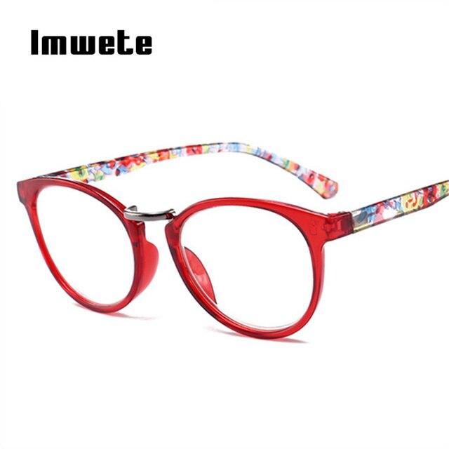 Imwete Printed Legs Reading Glasses Men Women Spring Hinge Rectangular Fashion Presbyopic Reading Glasses Frame Unisex +1.0 2.0