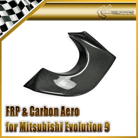 EPR Car Styling For Mitsubishi Evolution EVO 9 Carbon Fiber VRS Style Exhaust Heatshield Glossy Fibre Heat Shield Accessories велосипед merida matts tfs 500 d 2013