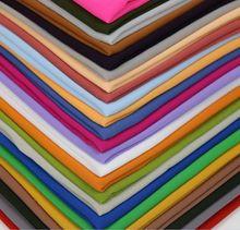 מכירה לוהטת באיכות גבוהה 48 נחמד צבע רגיל בועת שיפון צעיף פופולרי מוסלמי חיג אב ראש ללבוש אופנה נשים צעיף צעיף 180*90cm