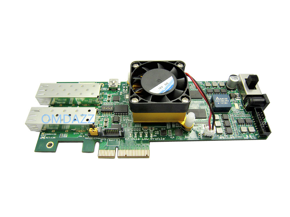 Image 2 - Xilinx Kintex7 FPGA Development Board PCIe Kintex 7 FPGA XC7K325T Card with 1024 MB DDR SDRAM 10Gb Ethernet Gigabit Network-in Integrated Circuits from Electronic Components & Supplies