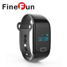 Finefun смарт-браслет Jw18 Bluetooth Smart часы Водонепроницаемый трекер Шагомер smartwatch Браслет для IOS телефона Android